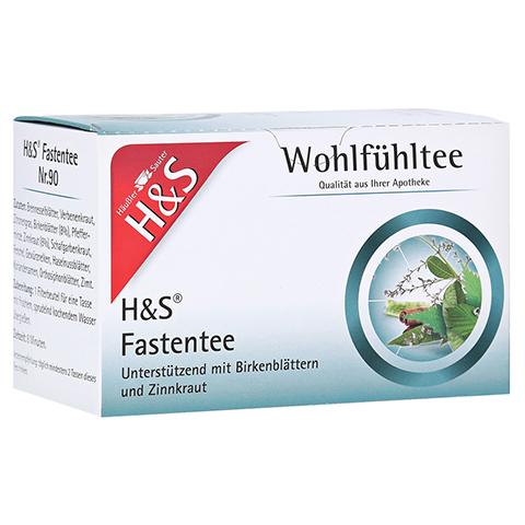 H&S Wohlfühltee Fastentee Filterbeutel 20x1.5 Gramm