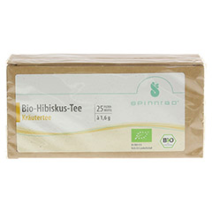 HIBISKUSTEE Bio Filterbeutel 25 Stück - Vorderseite
