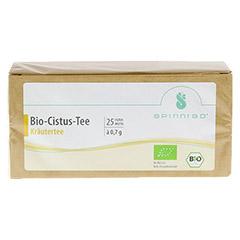 CISTUS BIO Tee Filterbeutel 25 Stück - Vorderseite