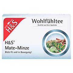 H&S Mate-Minze Filterbeutel 20 Stück - Vorderseite
