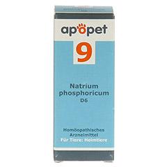 APOPET Schüßler-Salz Nr.9 Natrium phos.D 6 vet. 12 Gramm - Vorderseite