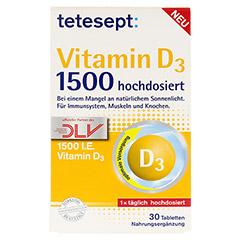 TETESEPT Vitamin D3 1.500 Filmtabletten 30 Stück - Vorderseite