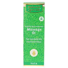 VATA Massageöl 200 Milliliter - Vorderseite