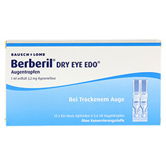 Berberil Dry Eye EDO 10x0.6 Milliliter - Vorderseite