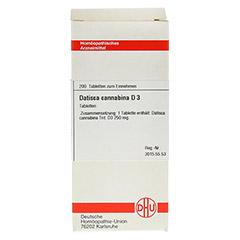 DATISCA cannabina D 3 Tabletten 200 Stück N2 - Vorderseite