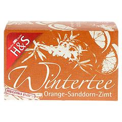 H&S Wintertee Orange-Sanddorn-Zimt Filterbeutel 20 Stück - Vorderseite