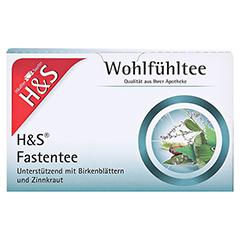 H&S Wohlfühltee Fastentee Filterbeutel 20x1.5 Gramm - Vorderseite