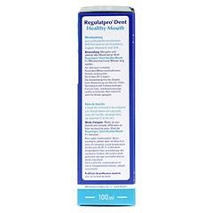 REGULATPRO Dent Healthy Mouth Mundspülung 100 Milliliter - Rechte Seite