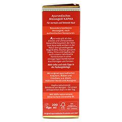 KAPHA Massageöl 200 Milliliter - Rechte Seite