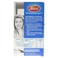 ABTEI Gedächtnis + Konzentration (Ginkgo + B-Vitamine) 40 Stück - Rückseite