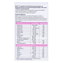 ELEVIT 1 Kinderwunsch & Schwangerschaft Tabletten 90 Stück - Rückseite