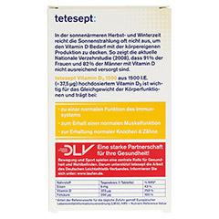 TETESEPT Vitamin D3 1.500 Filmtabletten 30 Stück - Rückseite