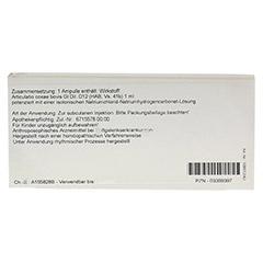 ARTICULATIO coxae GL D 12 Ampullen 10x1 Milliliter N1 - Rückseite