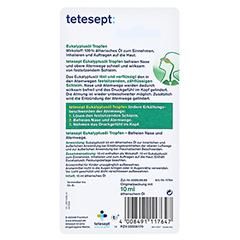 Tetesept Eukalyptusöl Tropfen Nase&Kopf 10 Milliliter - Rückseite