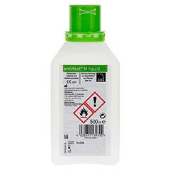 antifect N Liquid Schnell-Desinfektion 500 Milliliter - Rückseite
