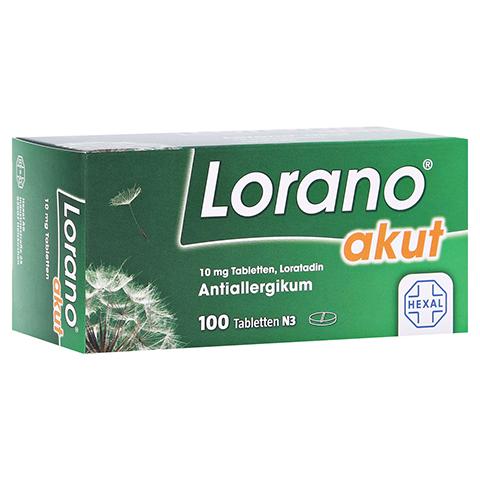 Lorano akut 100 Stück N3