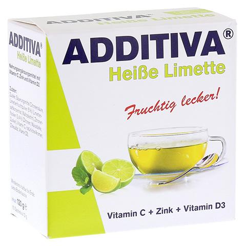 ADDITIVA heiße Limette Pulver 120 Gramm