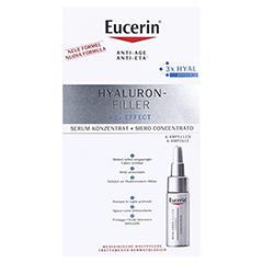 EUCERIN Anti-Age HYALURON-FILLER Serum-Konz.Amp. 6x5 Milliliter - Vorderseite