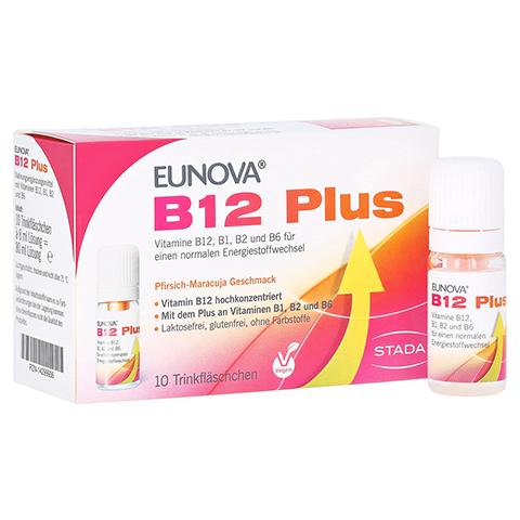 EUNOVA B12 Plus Trinkfläschchen + gratis EUNOVA B12 Probe 10x8 Milliliter