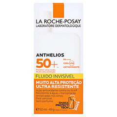 La Roche-Posay Anthelios Invisible Fluid LSF 50+ + gratis La Roche Posay Posthelios After-Sun 40 ml 50 Milliliter - Rückseite