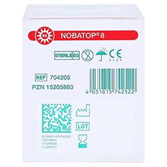 NOBATOP 8 Kompressen 5x5 cm steril 50x2 Stück - Unterseite