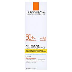La Roche-Posay Anthelios Sun Intolerance LSF 50+ Creme + gratis La Roche Posay Posthelios After-Sun 40 ml 50 Milliliter - Rückseite