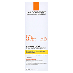 La Roche-Posay Anthelios Sun Intolerance LSF 50+ Creme + gratis La Roche Posay Posthelios After-Sun 40 ml 50 Milliliter - Vorderseite