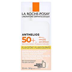 La Roche-Posay Anthelios Invisible Fluid LSF 50+ getönt + gratis La Roche Posay Anth. W Gel Kids 15ml 50 Milliliter - Vorderseite
