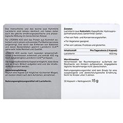 LFERRIN 400 magensaftresistente Kapseln 30 Stück - Rückseite