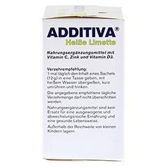 ADDITIVA heiße Limette Pulver 120 Gramm - Rechte Seite