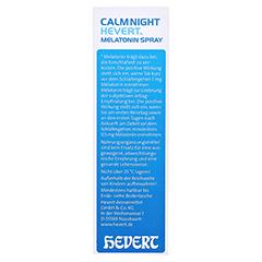 CALMNIGHT Hevert Melatonin Spray 30 Milliliter - Rechte Seite