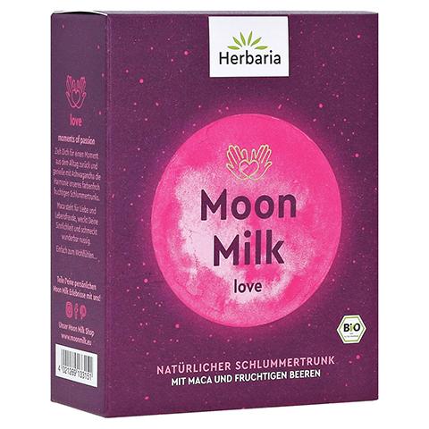 HERBARIA Moon Milk love Bio Pulver 5x5 Gramm