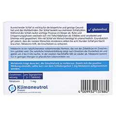DOPPELHERZ Melatonin Tabletten 120 Stück - Rückseite
