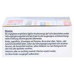 DOPPELHERZ Melatonin Tabletten 120 Stück - Linke Seite