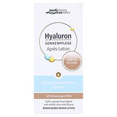 HYALURON SONNENPFLEGE Apres Lotion sanfte Bräune 150 Milliliter - Vorderseite