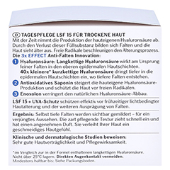 EUCERIN Anti-Age HYALURON-FILLER Tag trockene Haut + gratis Eucerin Hyaluron Spray 50ml 50 Milliliter - Linke Seite