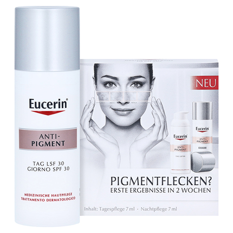 Eucerin Anti-Pigment Tagespflege LSF 30 + gratis Eucerin Anti-Pigment Probierset 50 Milliliter
