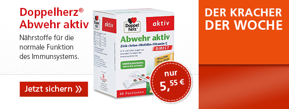 Doppelherz Abwehr Aktiv DIRECT Zink + Selen + Histidin + Vitamin C