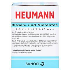 HEUMANN Blasen- und Nierentee SOLUBITRAT uro 30 Gramm - Rechte Seite