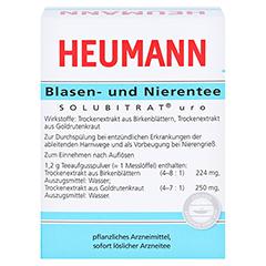 HEUMANN Blasen- und Nierentee SOLUBITRAT uro 30 Gramm - Rückseite