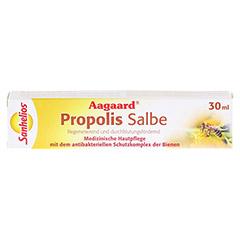 AAGAARD Propolis 10% Salbe 30 Milliliter - Vorderseite