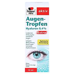 Doppelherz Augen-Tropfen Hyaluron 0,4% Extra 10 Milliliter - Vorderseite