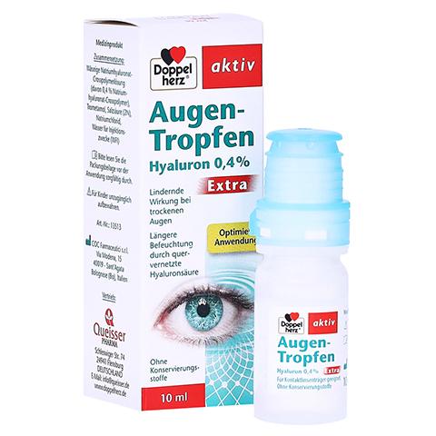 Doppelherz Augen-Tropfen Hyaluron 0,4% Extra 10 Milliliter