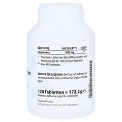 L-TRYPTOPHAN 1000 Tabletten 120 Stück - Linke Seite