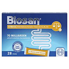 BIOSAN STRESS Granulat 28 Stück - Vorderseite