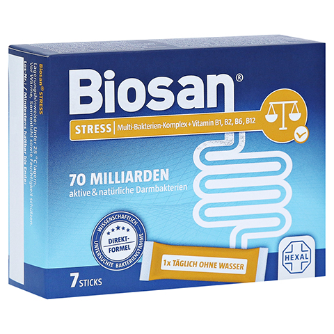 BIOSAN STRESS Granulat 7 Stück