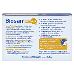 BIOSAN STRESS Granulat 28 Stück - Rückseite