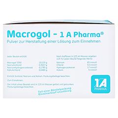 Macrogol-1A Pharma 100 Stück - Linke Seite