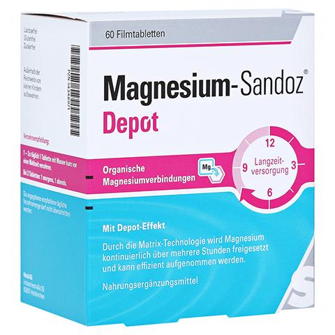 MAGNESIUM-SANDOZ Depot Filmtabletten 60 Stück