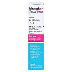 MAGNESIUM-SANDOZ Depot Filmtabletten 24 Stück - Rechte Seite